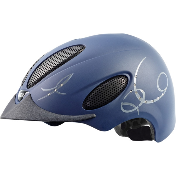 Kask UVEX perfexxion glamour - blue mat