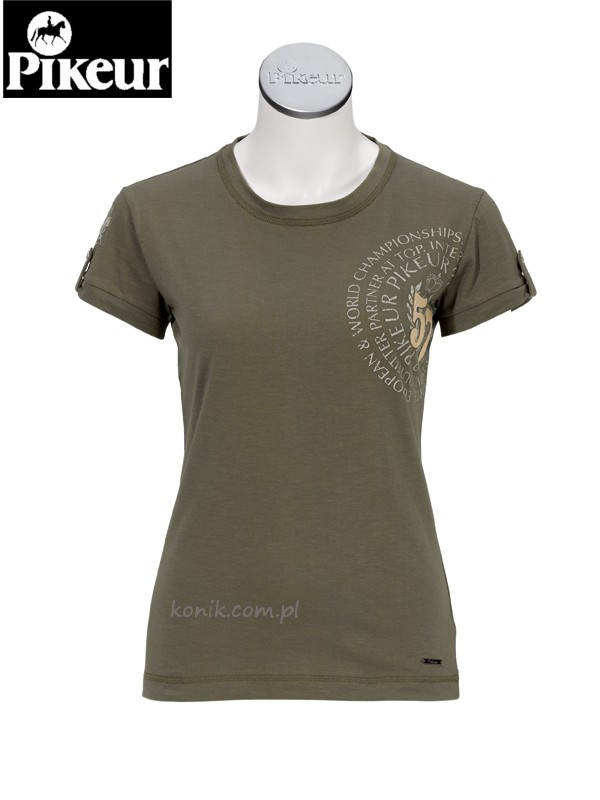 Koszulka MIRIAM - Pikeur - olive green - damska