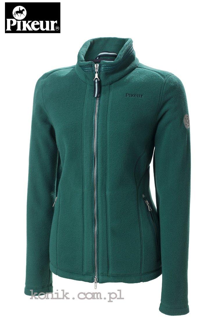 Bluza polarowa CARALINA damska - Pikeur - smaragd green