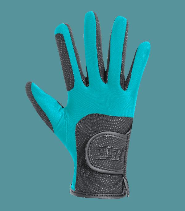 Rękawiczki METROPOLITAN - turkusowe - ELT