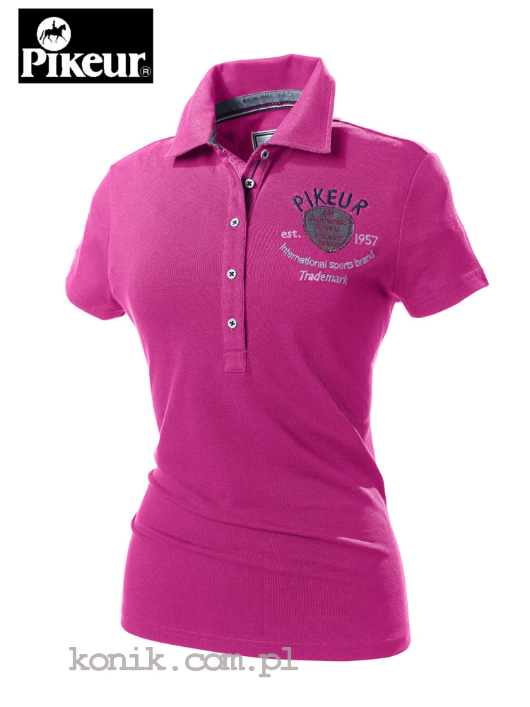 Koszulka polo JASMIN - Pikeur - pink - damska