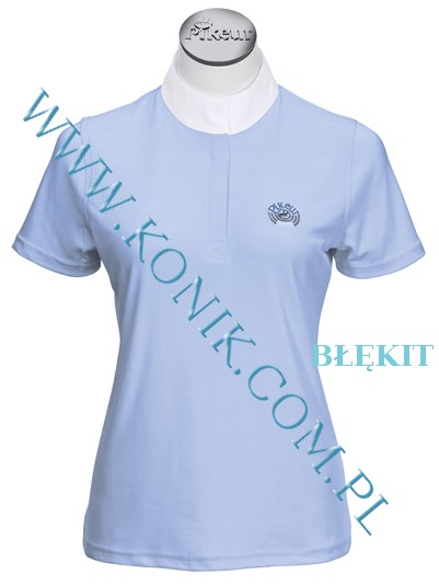 Koszula konkursowa elastyczna PIKEUR -błękitna