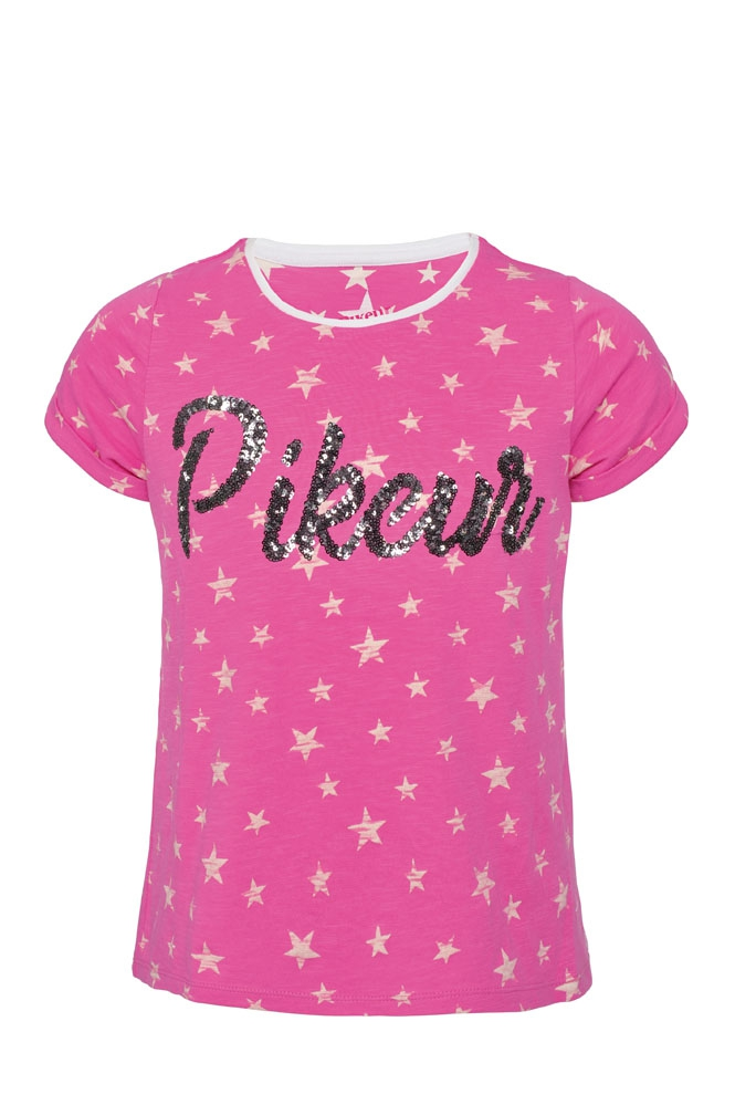 Koszulka LONI - Pikeur - pink melange