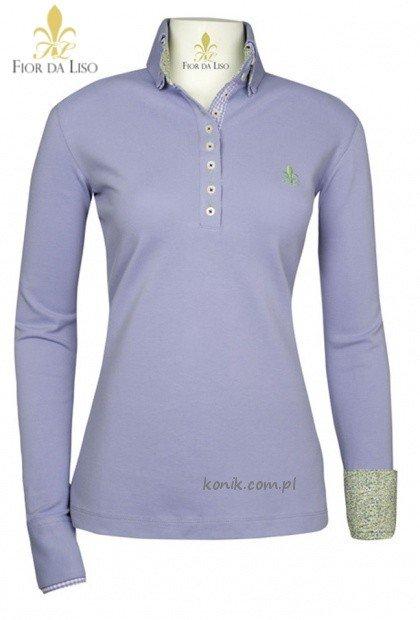 Koszulka FRANCA damska - FIOR DA LISO - lavender