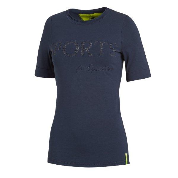 T-shirt PRINCESS wiosna-lato 2017 - Schockemohle - navy - damska