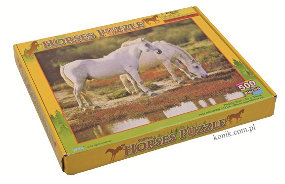 Puzzle z motywem koni - HKM