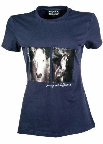 Koszulka TWO HORSES damska - HKM