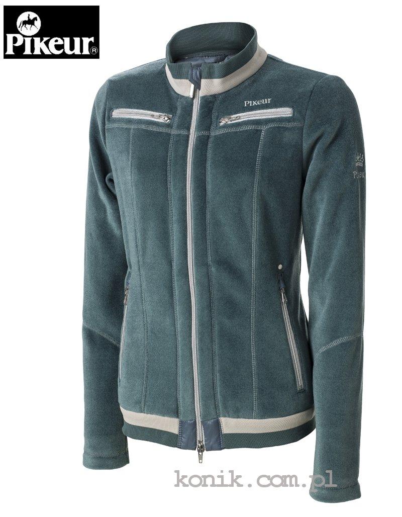 Bluza polarowa MALINA damska - Pikeur - petrol green