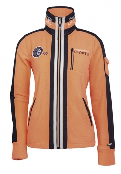 Bluza polarowa SHELLY damska - Schockemohle - neon orange