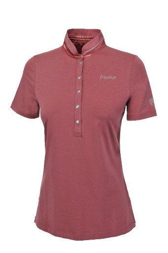 Koszulka polo QUIRINE - Pikeur - roan rouge - damska
