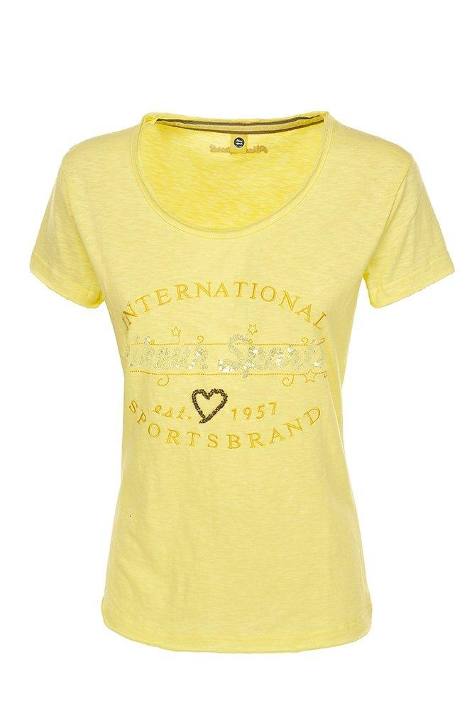 Koszulka damska RAISA Pikeur - light yellow