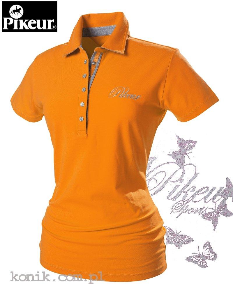 Koszulka polo DOLLY - Pikeur - orange - damska