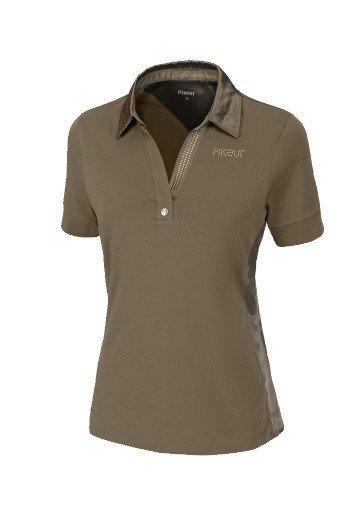 Koszulka polo OXENIA - Pikeur - taupe - damska
