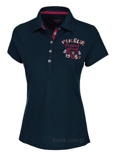 Koszulka polo JOHANNA - Pikeur - navy - damska