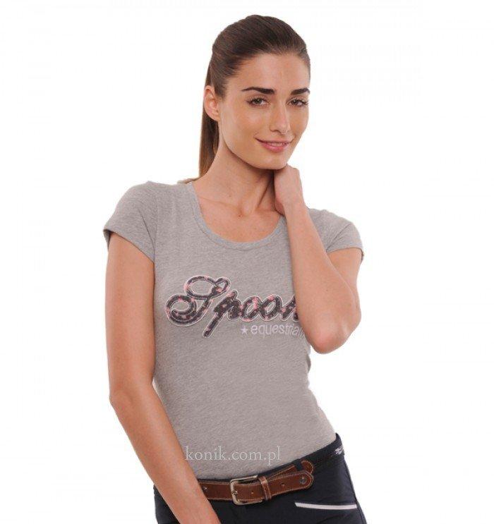 Koszulka FLOWER - Spooks - grey - damska