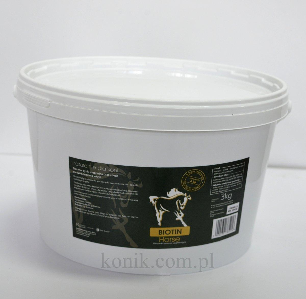 Biotyna BIOTIN HORSE 3kg - OVER HORSE (edycja limitowana)