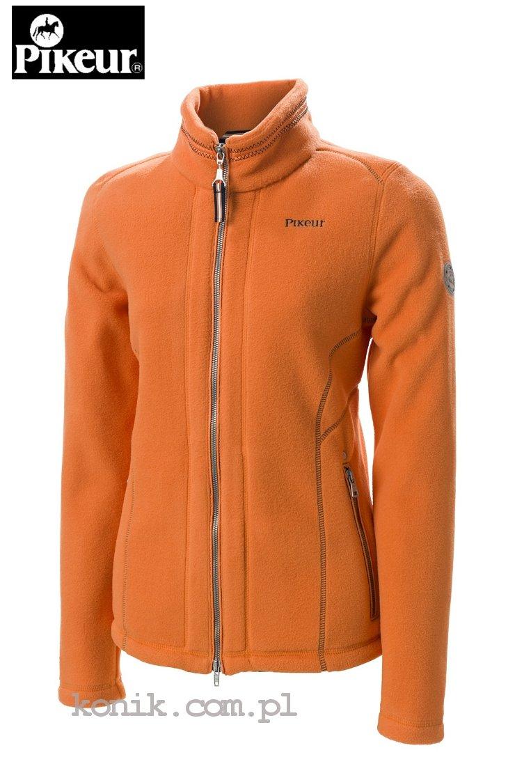 Bluza polarowa CARALINA damska - Pikeur - orange