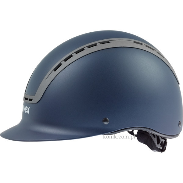 Kask UVEX model SUXXEED ACTIVE - blue mat