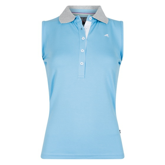 Koszulka polo BEAUl - Euro-Star - bluebell - damska