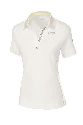 Koszulka polo OXENIA - Pikeur - off white - damska