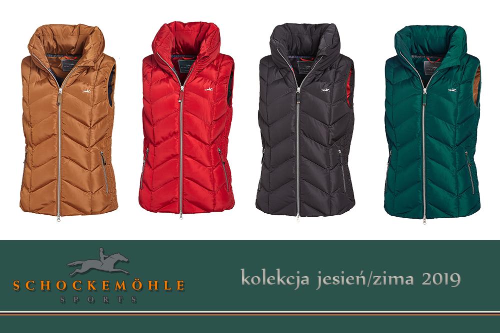 Kamizelka MARTHA kolekcja jesień-zima 2019 - Schockemohle