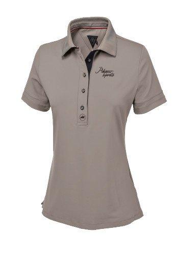 Koszulka funkcyjna polo LAUNA - Pikeur - taupe - damska