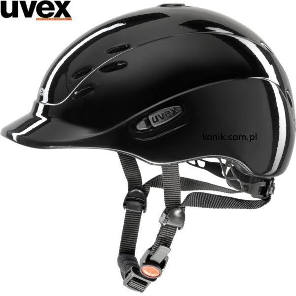 Kask UVEX model ONYX dziecięcy - shiny black
