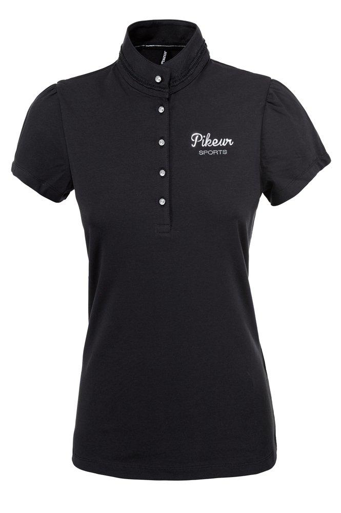 Koszulka polo MINA damska - Pikeur - black