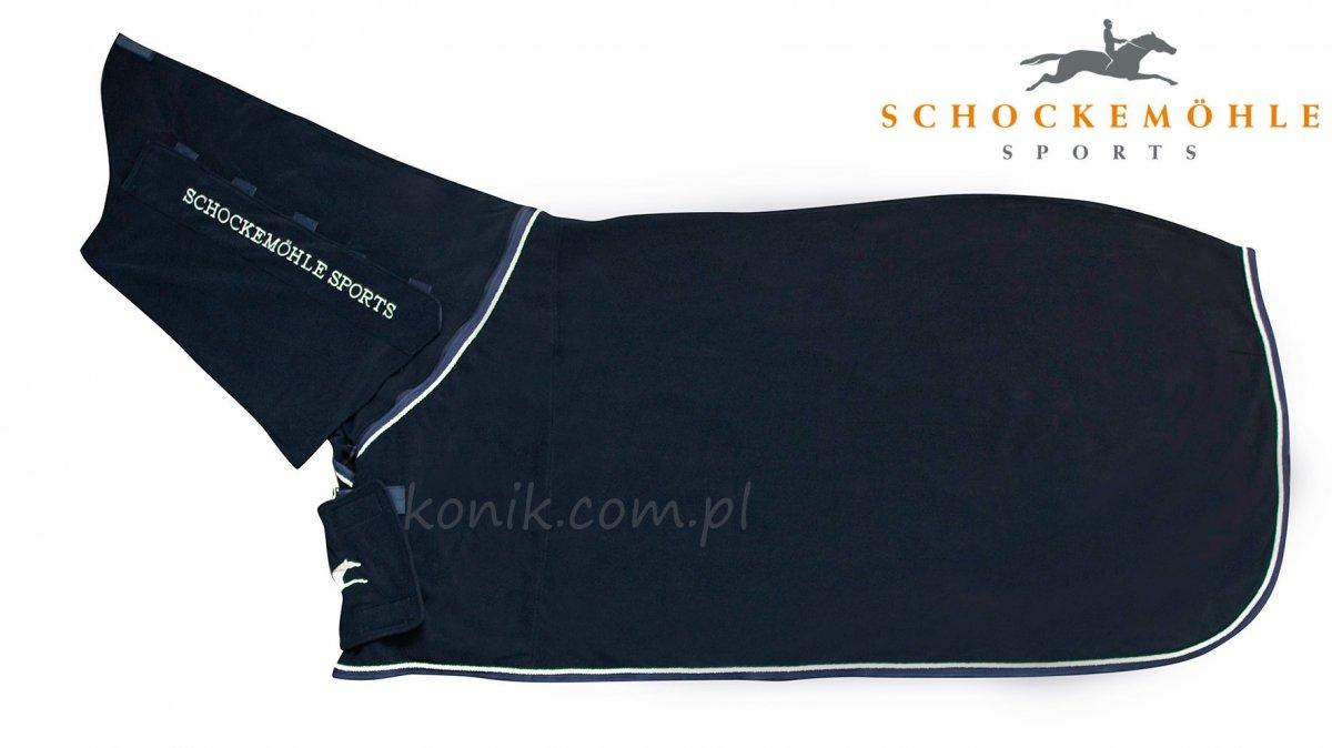 Derka polarowa HORSE HOODY navy - Schockemohle
