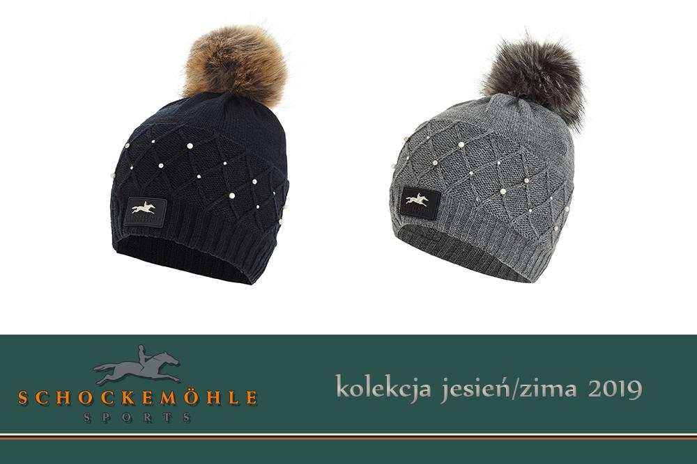 Czapka BAILA BEANIE PEARLS kolekcja jesień-zima 2019 - Schockemohle
