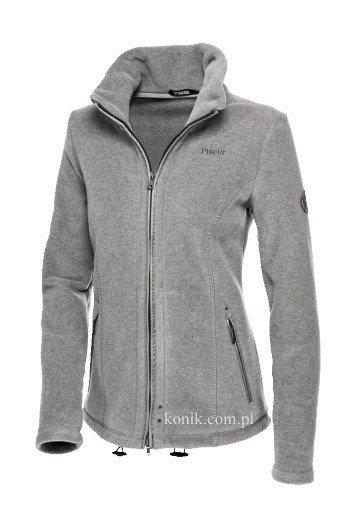 Bluza polarowa QUINTA damska - Pikeur - light grey melange
