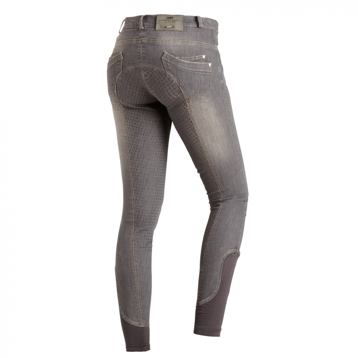 Bryczesy DELPHI damskie - Schockemohle - graphite