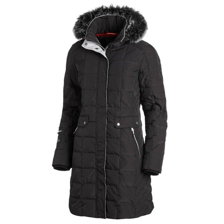 Płaszcz zimowy CHARLEEN Schockemohle jesień-zima 2017/18 - simply black