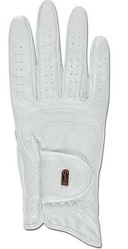 Rękawiczki DRESSAGE PRO white - Tredstep