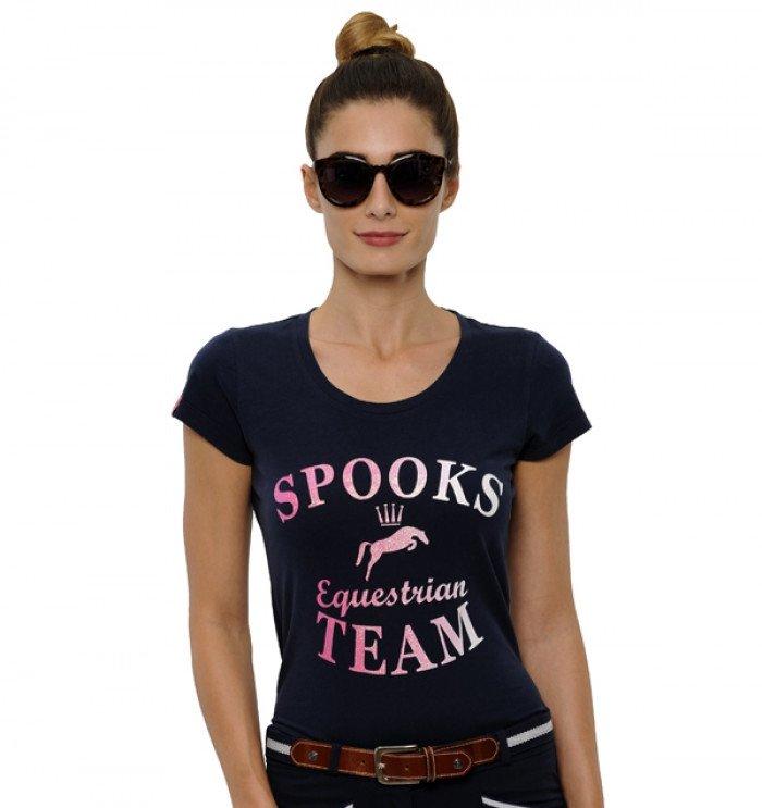 Koszulka damska MARIL - Spooks - navy