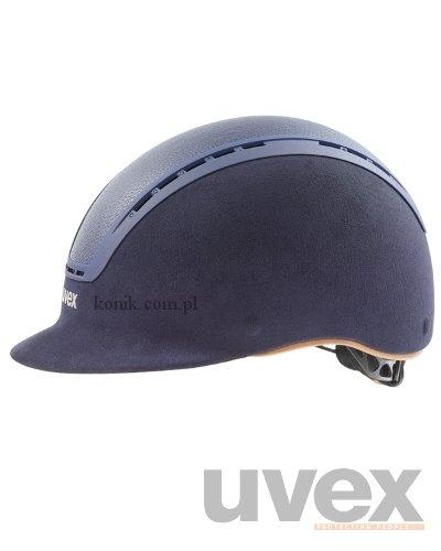 Kask UVEX model SUXXEED LUXURY GLAMOUR - niebieski