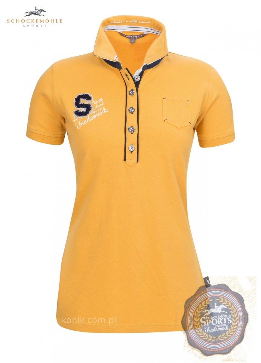 Koszulka polo MELISSA wiosna-lato 2014 - Schockemohle - honey - damska