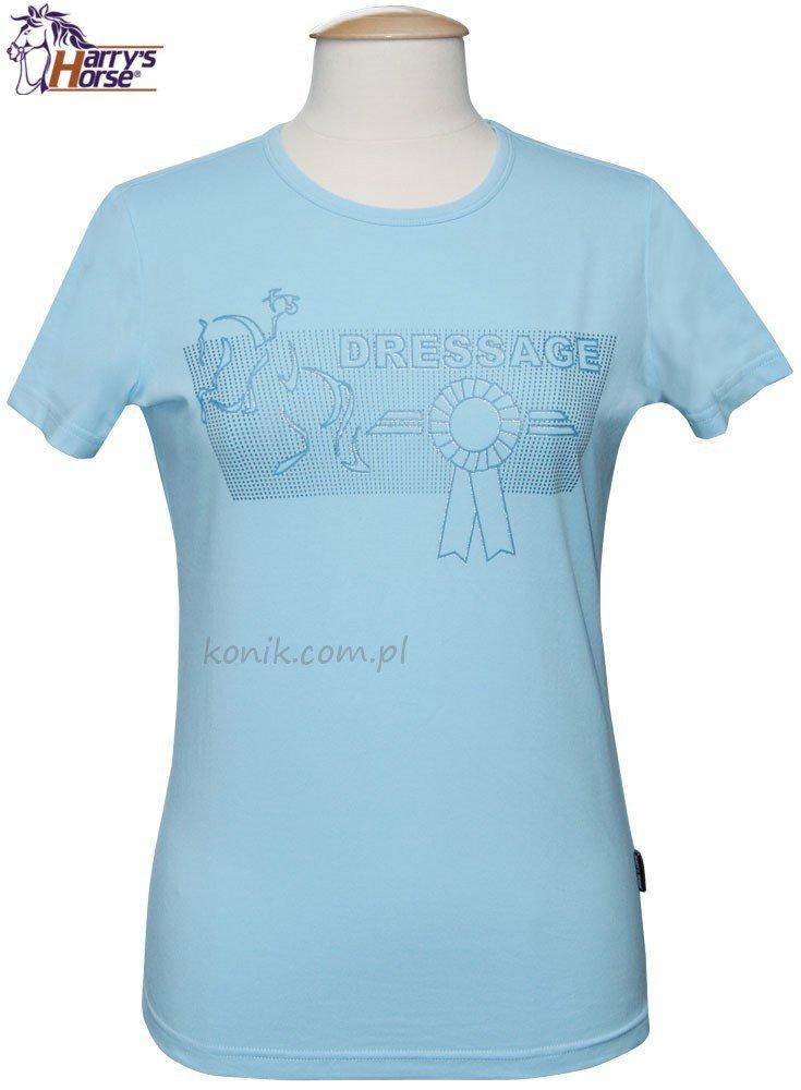 Koszulka DRESSAGE damska - HARRY'S HORSE