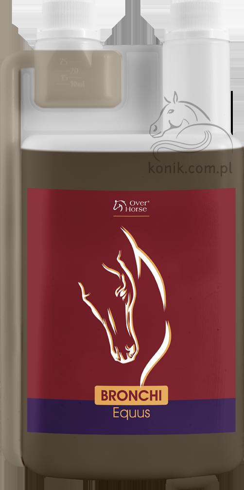 Syrop ziołowy dla koni BRONCHI EQUUS 1000ml - OVER HORSE