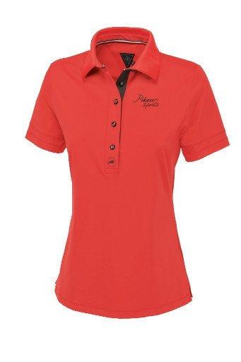 Koszulka funkcyjna polo LAUNA - Pikeur - grenadine - damska