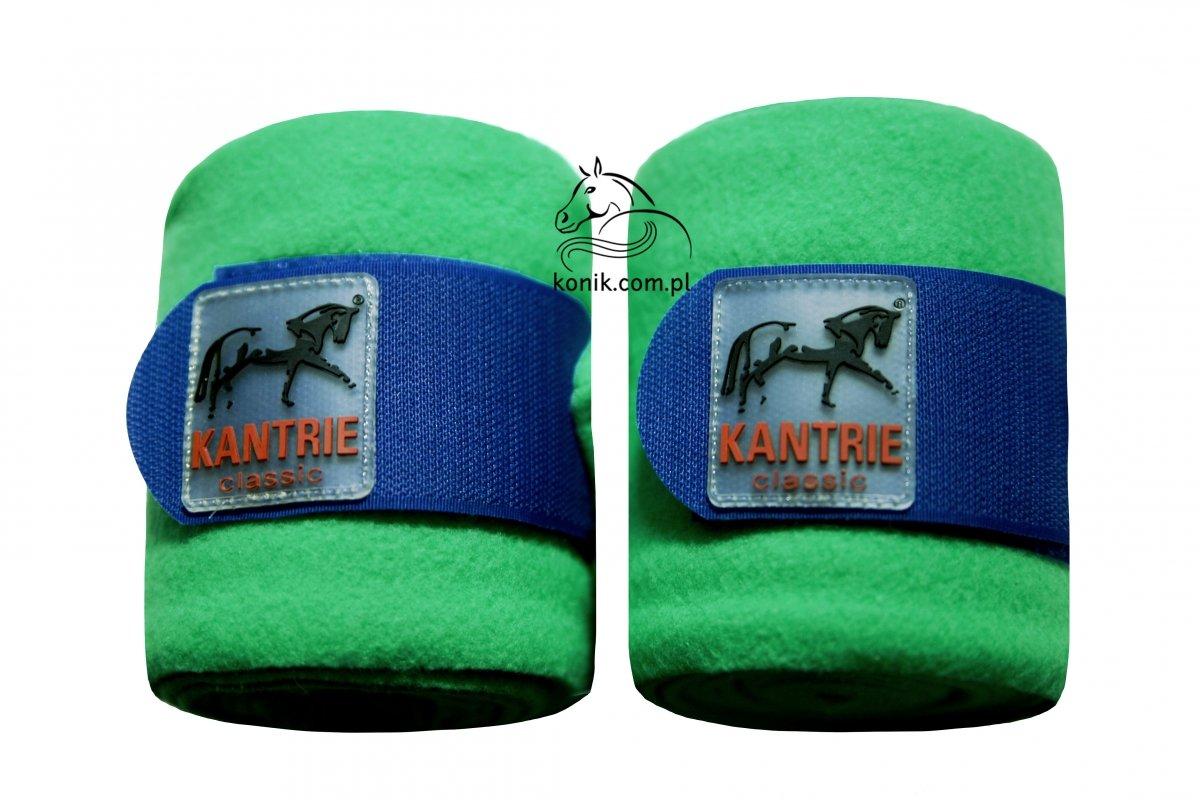 Bandaże polarowe Polo green/blue - KANTRIE