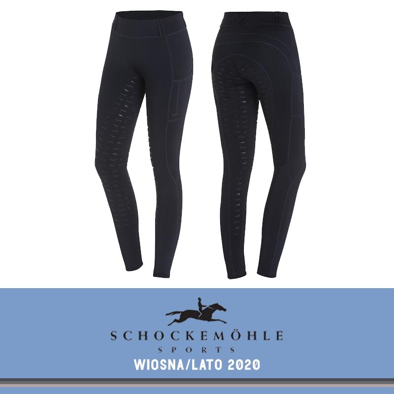 Legginsy TIGHTS FS SS20 - Schockemohle - moonlight blue
