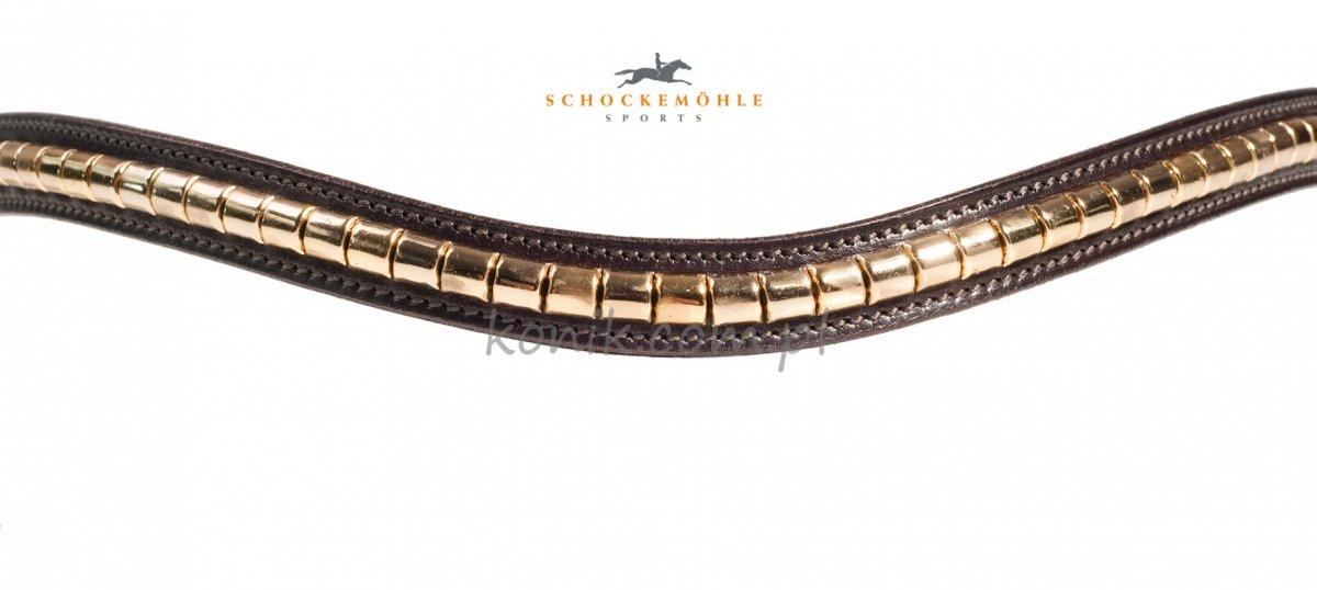 Naczółek CLINCHER GOLD - Schockemohle