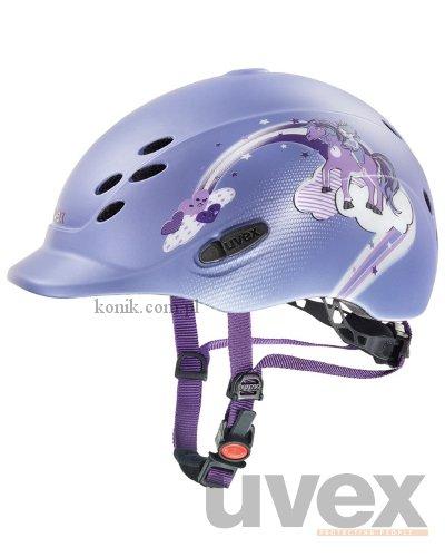 Kask UVEX model ONYX PRINCESS - fiolet