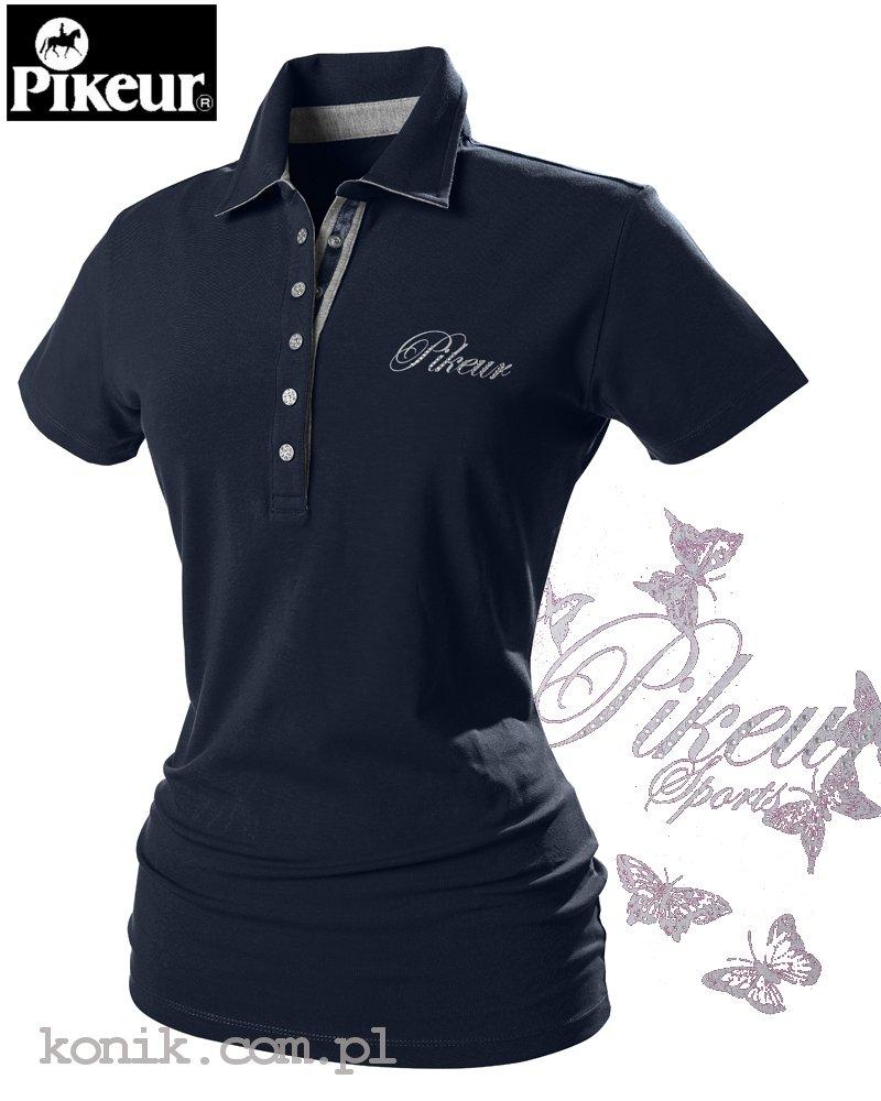Koszulka polo DOLLY - Pikeur - navy - damska