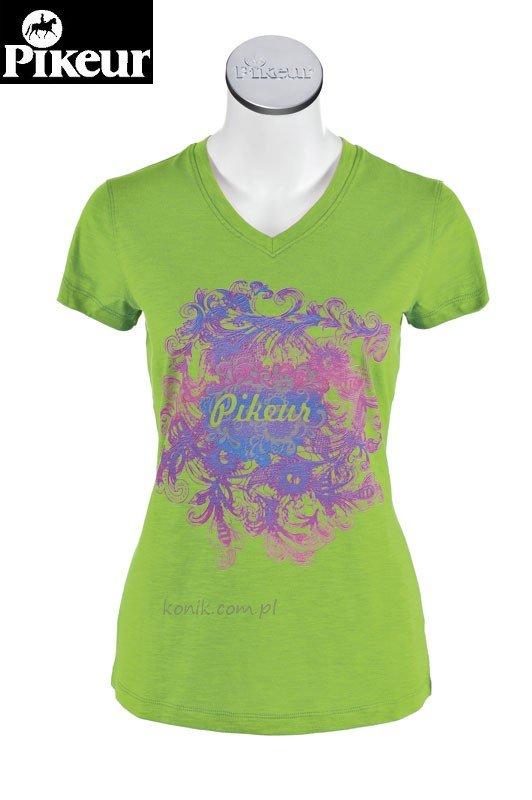 Koszulka VICTORIA damska - Pikeur - lemon green