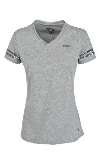 Koszulka HOLLY - Pikeur - grey melange - damska