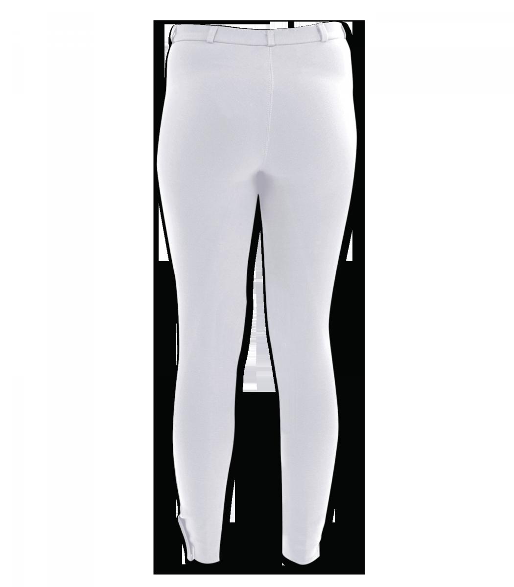 Bryczesy konkursowe ELT Blanco młodzieżowe - WALDHAUSEN - biały