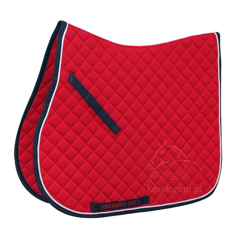 Potnik Trainer Pad red/navy - Schockemohle