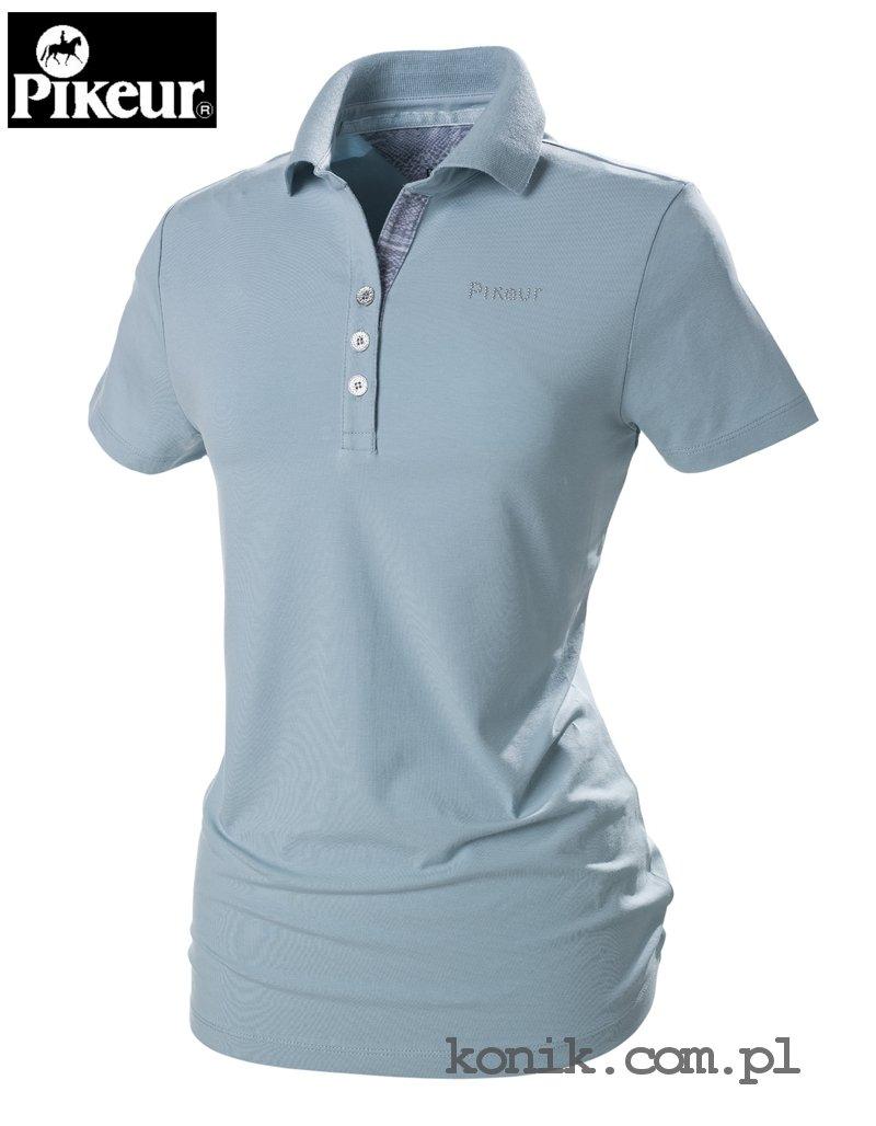 Koszulka polo MARIELLA - Pikeur - light blue - damska